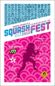 SquashFEST 2013 Poster