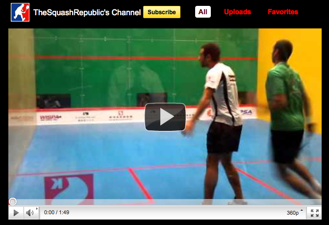 Squash Republic on You Tube