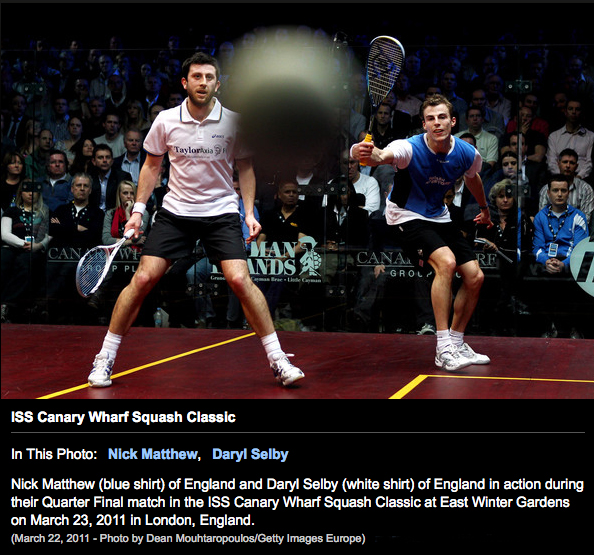 Squash in The Vancouver Sun