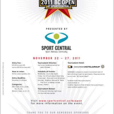 BC Open 2011