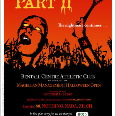 Bentall Halloween Open 2007