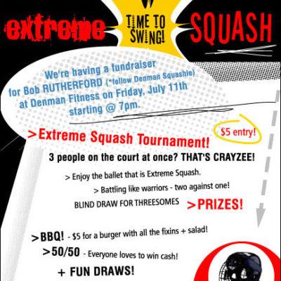 Denman Fitness Extreme Squash