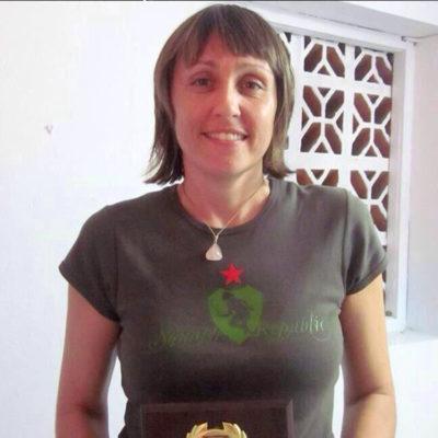 Karen Meakins in Squash Republic