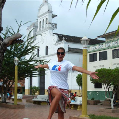 AJ in Colombia