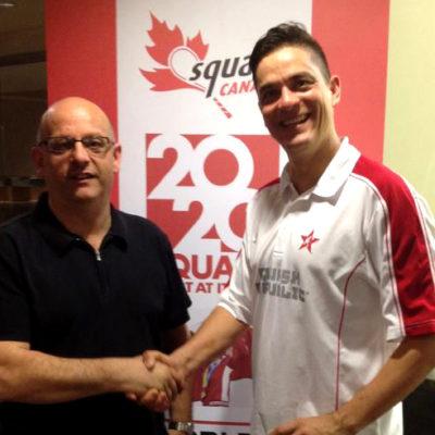 Mark Sachvie and Robert Pacey
