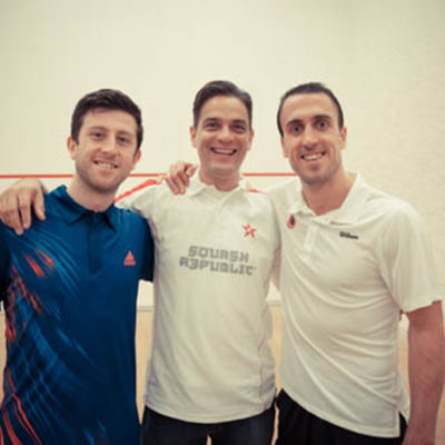 Daryl Selby, Robert Pacey and Peter Barker