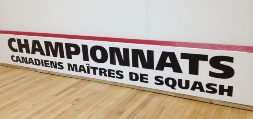 2012 Canadian Team Masters Squash