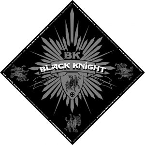 Black Knight bandana design