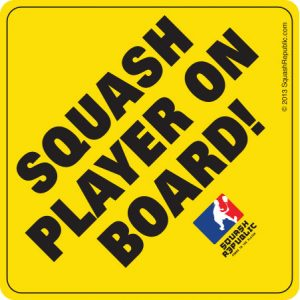 Squash Player on Board!