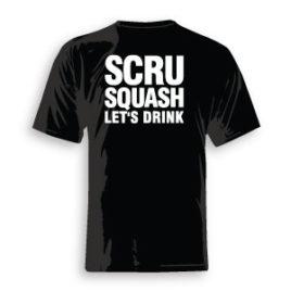 S.C.R.U. Squash Let's Drink