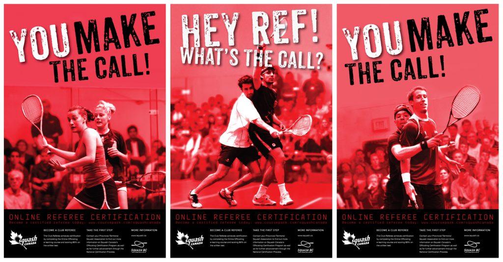 Squash Canada Posters