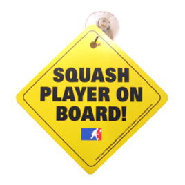 Squash Player On Board