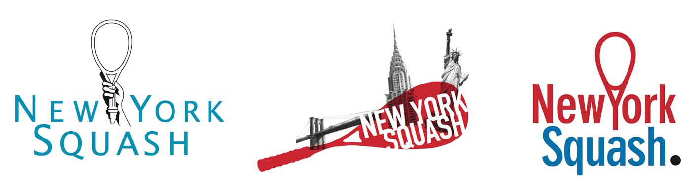 NY Squash Rebranding Logo Concepts