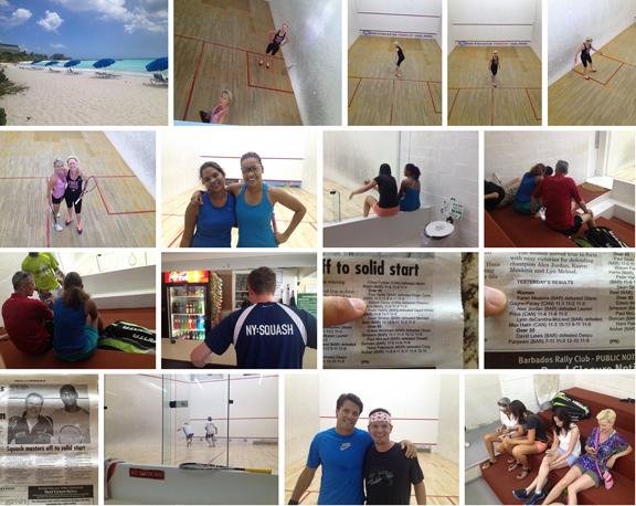 2014 Barbados Squash