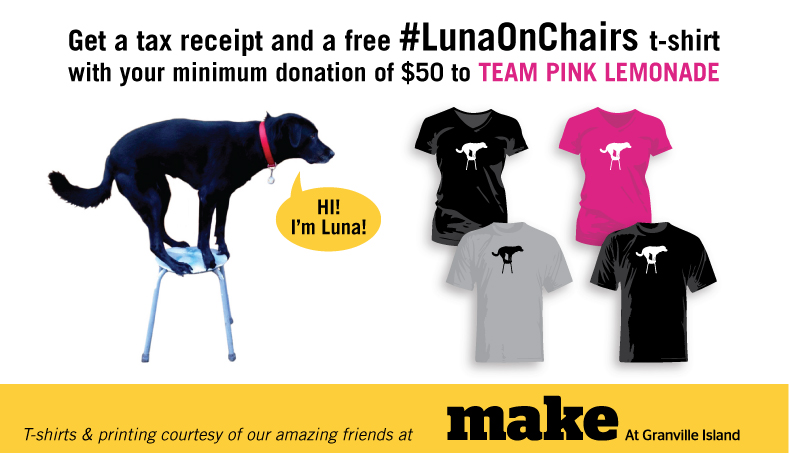 #LunaOnChairs T-Shirt Offer