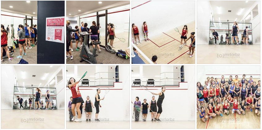 Mr Forbz Photography - Women's Squash Week 2015