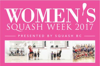 Women's Squash Week 2017