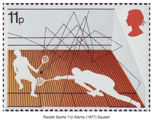 Squash Stamps Design by Andrew Restall 1977